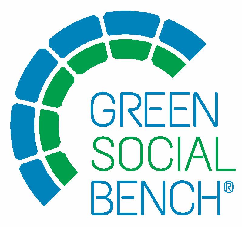 Green Social Bench